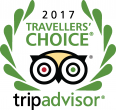 Tripadvisor Travellers` choice 2017